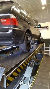 Uitlijnen BMW X5