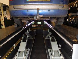 Uitlijnen Renault Laguna1