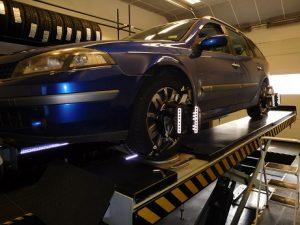 Uitlijnen Renault Laguna2