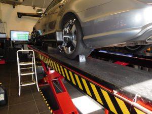 Uitlijnen Mercedes-Benz CLS