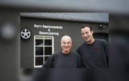 Ron en Stefan van Rons Bandencentrale