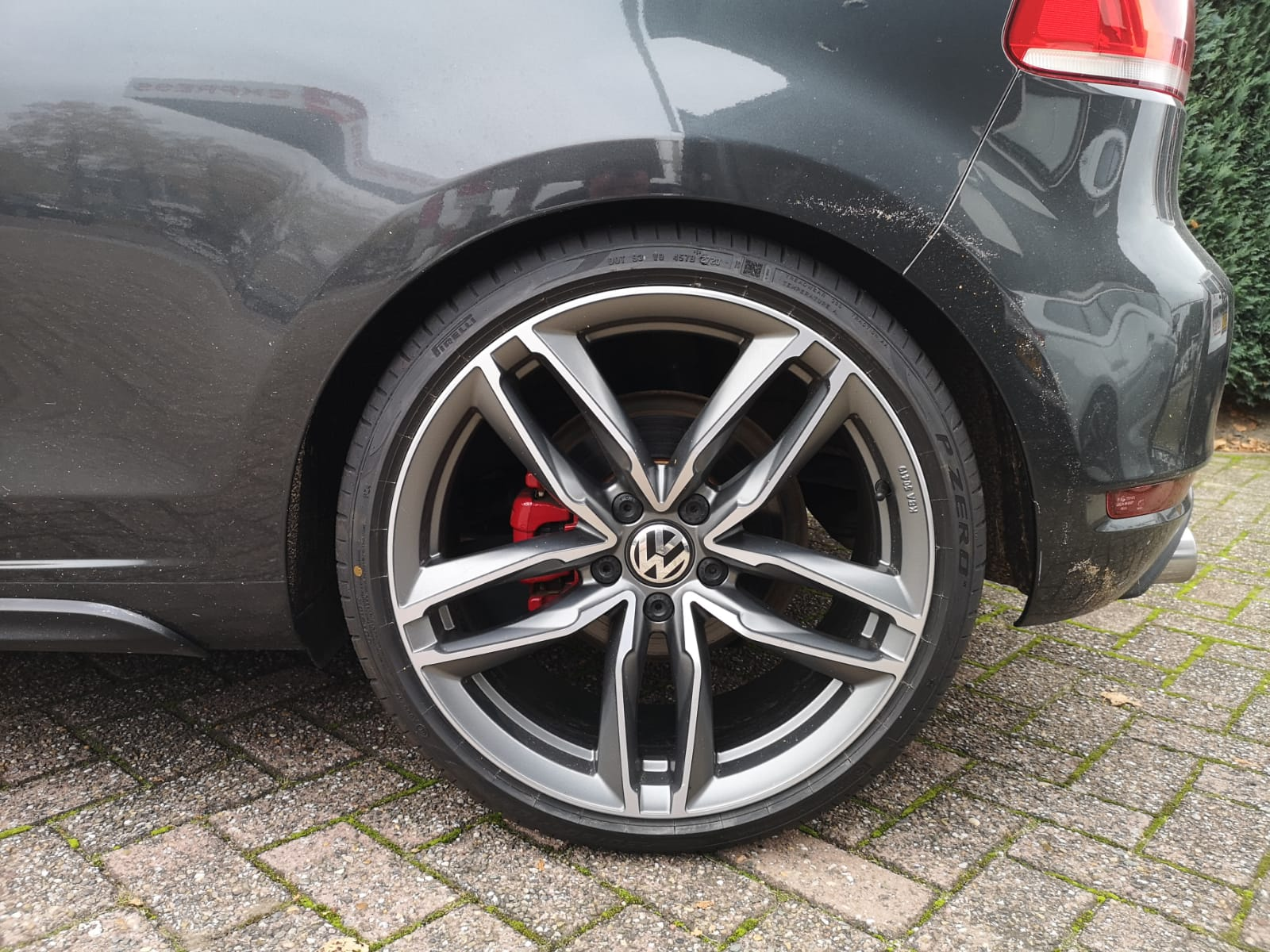 VW Golf 6 gti achterkant 15 mm verlaagd
