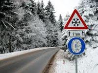 Verkeersbord winterbanden